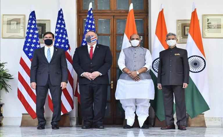 India, US hold 3rd bilateral 2+2 Ministerial Dialogue in New Delhi