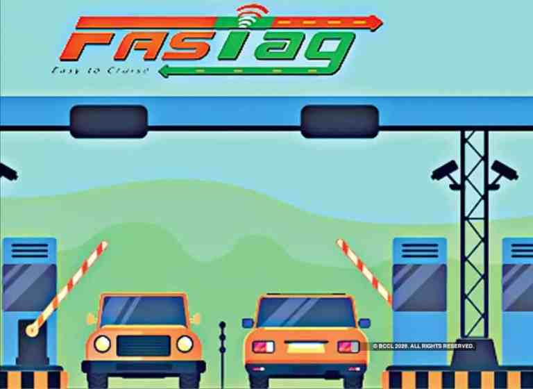 FASTags to be mandatory for all four wheelers from 1stJanuary, 2021