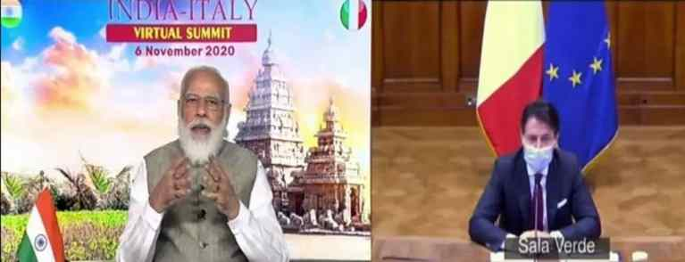 India and Italy sign 15 agreements in various sectors