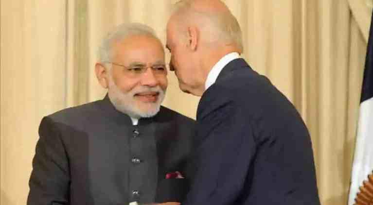 PM Modi speaks to US elected President Joe Biden