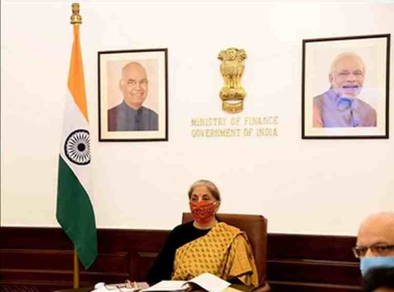 G20 Finance Ministers' virtual meeting attended by Finance Minister Nirmala Sitharaman