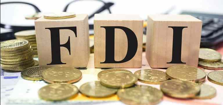 FDI flow in  India surged to 30 billion dollars in Apr-Oct this year