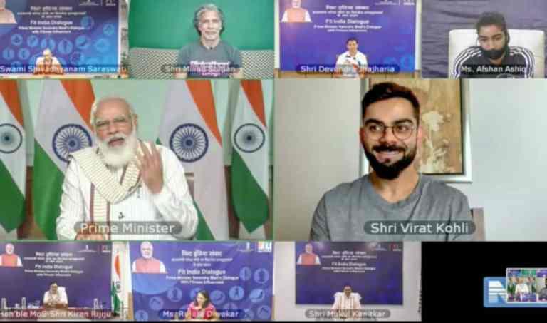 "India's ""Fitness Ka Dose Aadha Ghanta Roz"" campaign addressed by World Health Organization"