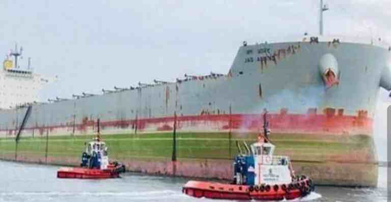 Indian ship 'MV Jag Anand' stranded at Chinese port likely to reach Japan on January 18