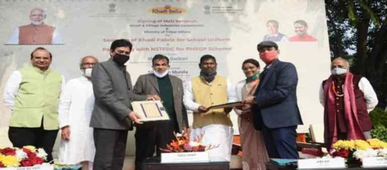 Two MoUs signed between KVIC and Ministry of Tribal Affairs