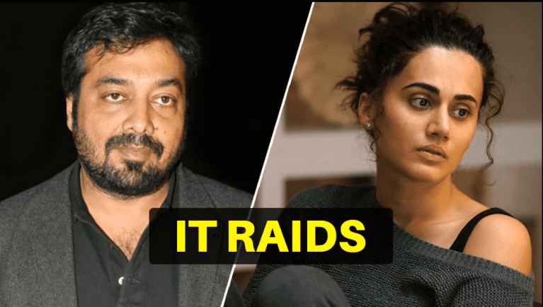 Income Tax Department Conducts Searches at Residence and Offices of Taapsee Pannu, Anurag Kashyap and Others
