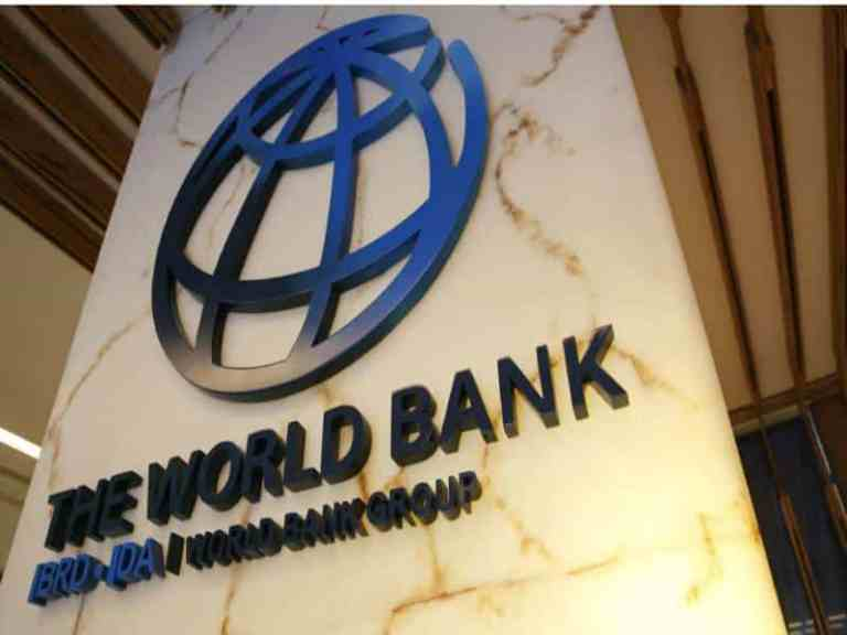 World Bank raised India's GDP growth for fiscal year 2021-22 to 10.1 percent