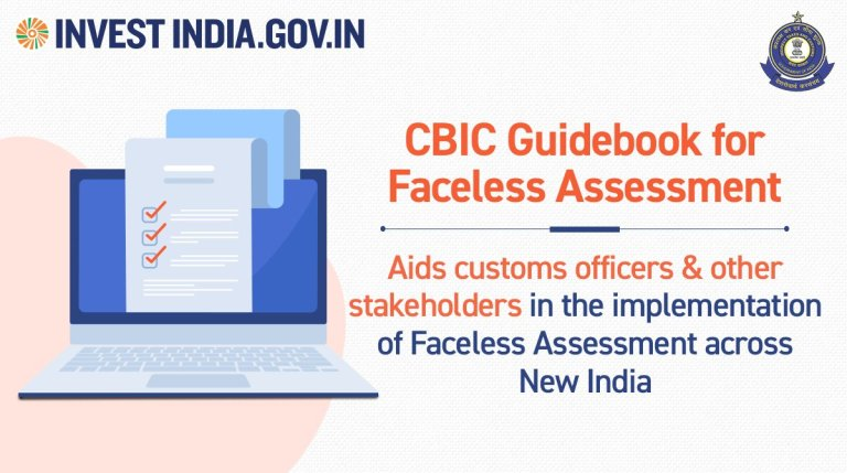 CBIC Guidebook for Faceless Assessment