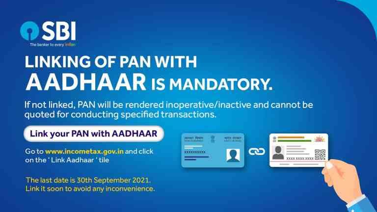 Important Notice: SBI Account Holders Link their PAN with Aadhaar