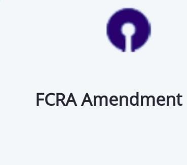 FCRA NEWS: State Bank of India's advisories and guidelines in respect of FCRA bank account
