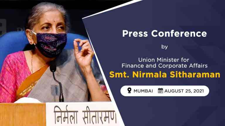 Finance Minister Nirmala Sitharaman will Interact with Media at 1.30 PM Today. Check Details Here