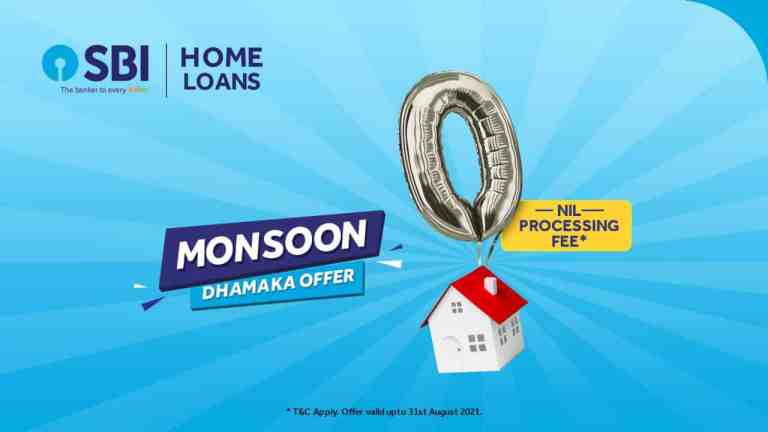 SBI Offers: 100% Off On Home Loan Processing Fees!