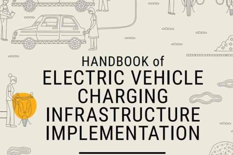 NITI AAYOG: HANDBOOK of ELECTRIC VEHICLE CHARGING INFRASTRUCTURE IMPLEMENTATION