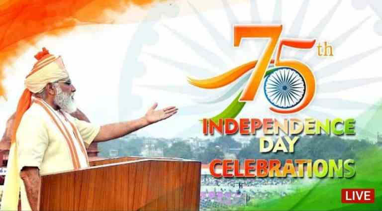 India's 75th Independence Day Celebrations – PM's address to the Nation LIVE