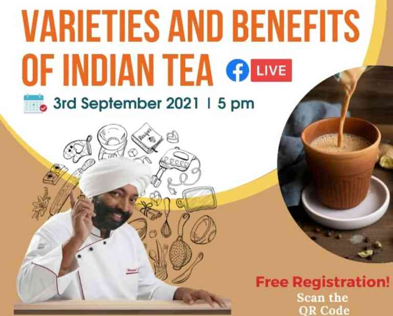 FSSAI: Join the consumer connect session on Varieties and Benefits of Indian Tea