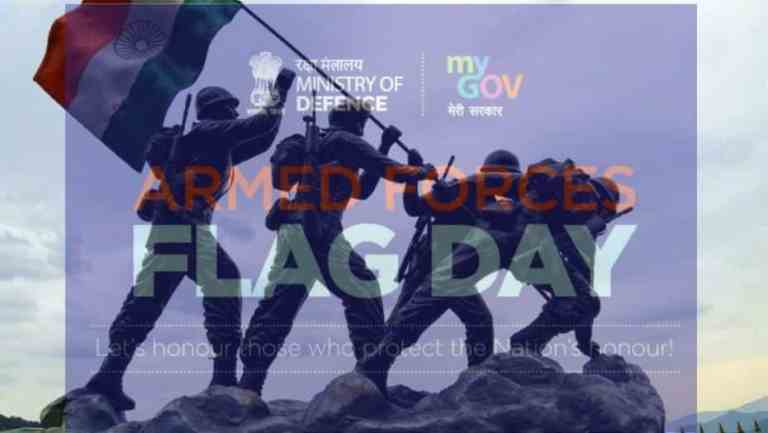 Raksha Mantri appeals for generous contribution to Armed Forces Flag Day Fund