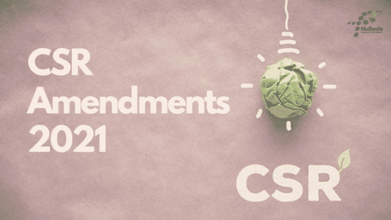 CSR Amendments (FY 20-21) – 10 Points to Consider before filing Annual Return (2020-21)