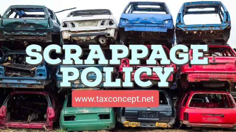 Notification issued on incentives and disincentives pertaining to Vehicle Scrapping Policy