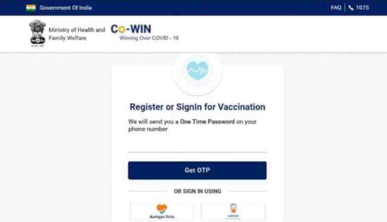 Your Data on CoWIN Portal is Completely Safe: Government
