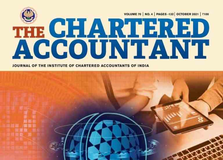 ICAI Members' Journal The Chartered Accountant – October 2021 Issue