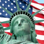 iStock_ Statue Liberty and Flag XSmall