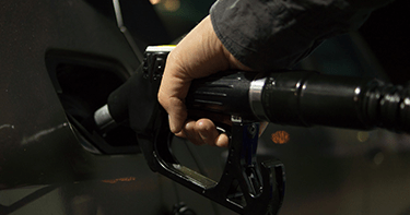 Image of a gas pump