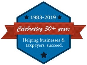 Celebrating 30+ Years of helping businesses and taxpayers succeed.