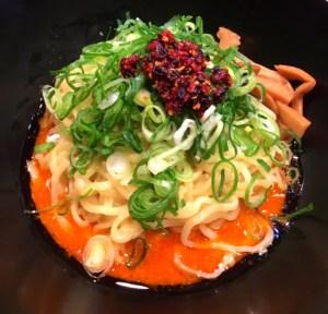 汁なし担担麺