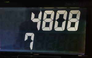 タクシー・メーター:本日の売上げ