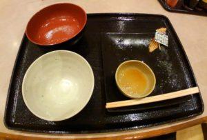 いも膳 紅鮭と玉子焼き定食 完食