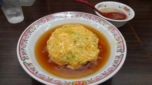 餃子の王将 天津飯