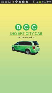 Splash Page - Desert City Cab, Palm Springs