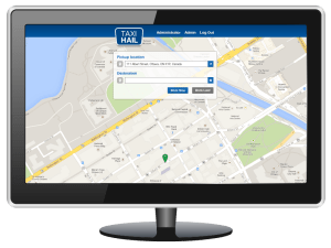 TaxiHail Admin Landing Page