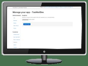 TaxiHail Customer Portal