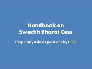 Handbook on Swachh Bharat Cess 1
