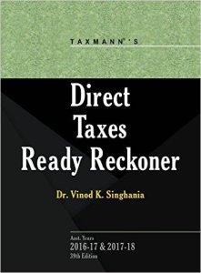 Direct Tax Reconer