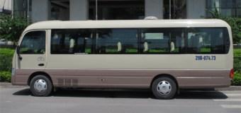 Dịch vụ cho thuê xe 16 chỗ đi bái đính
