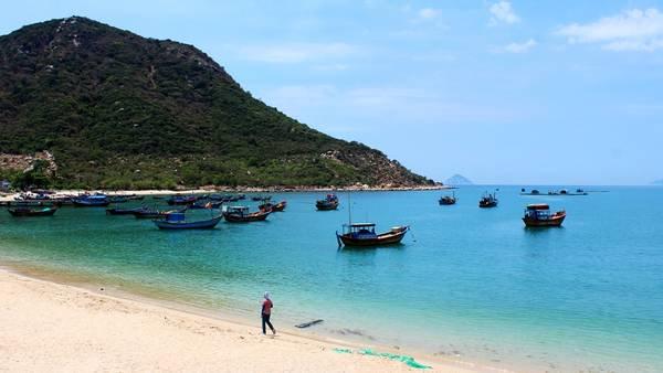 Du lịch Vịnh Ninh Vân thả hồn phiêu lãng với cảnh đẹp