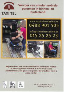 Scootmobiel & -rolstoelvervoer