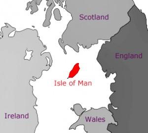 Isle of Man map