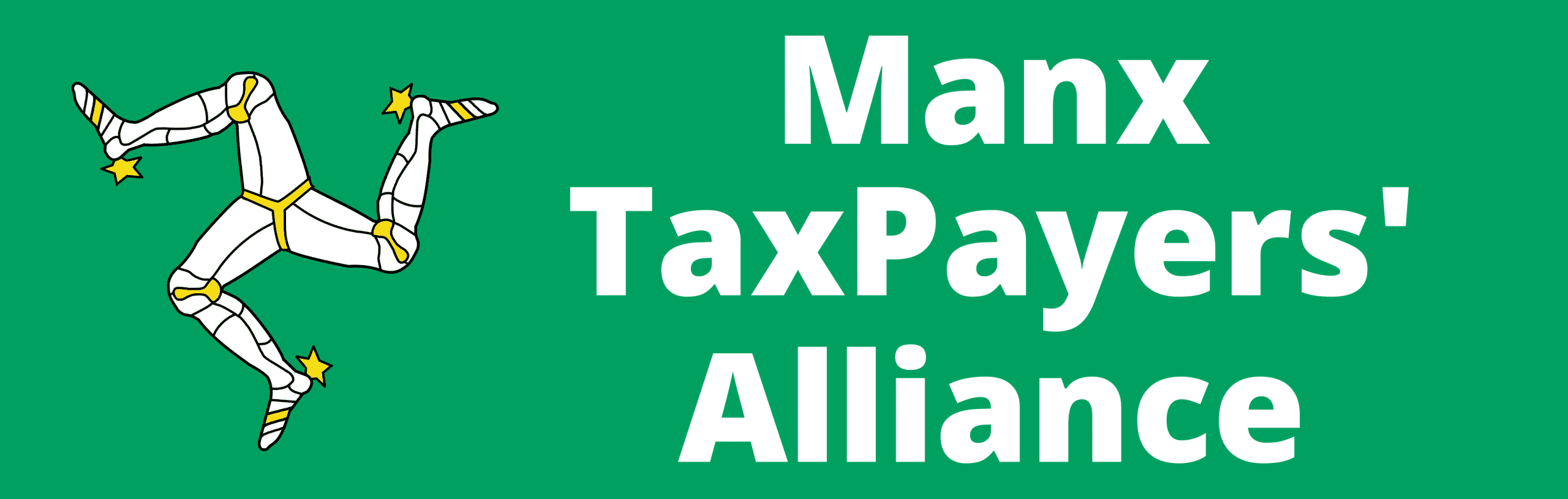 Manx TaxPayers Alliance Wide Logo in Colour