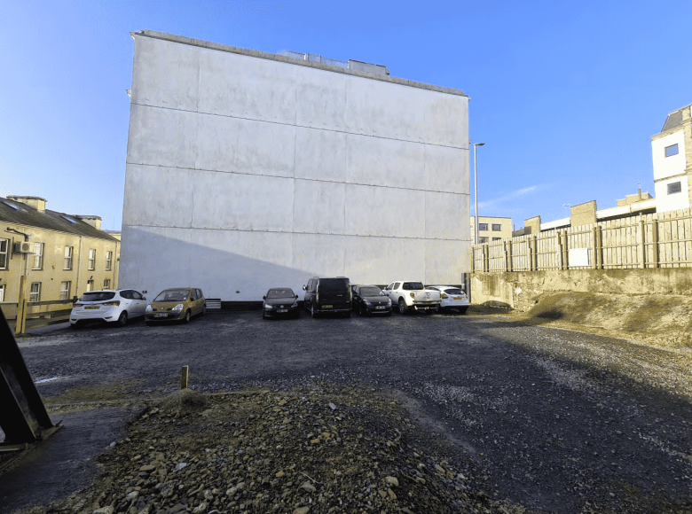 The car park under attack from DOI and Douglas Council
