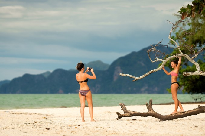 create a travel blog