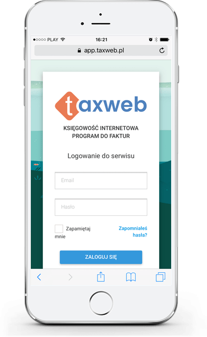 taxweb serwis on-line do faktur