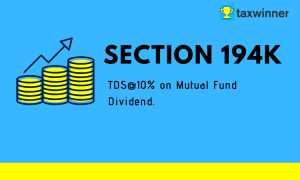 TDS on Mutual Fund Dividend Income