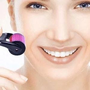 microagulhamento facial, clínica de estética, bairro do limão, tay akemi, 1 mulher, rosto, mulher sorrindo
