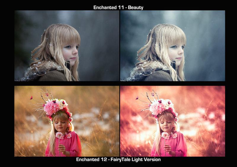 Vorschau Lightroom Presets Echanted Pack 7