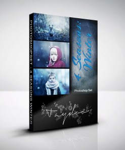 Produktbox Photoshop Set Winter – 4 Seasons
