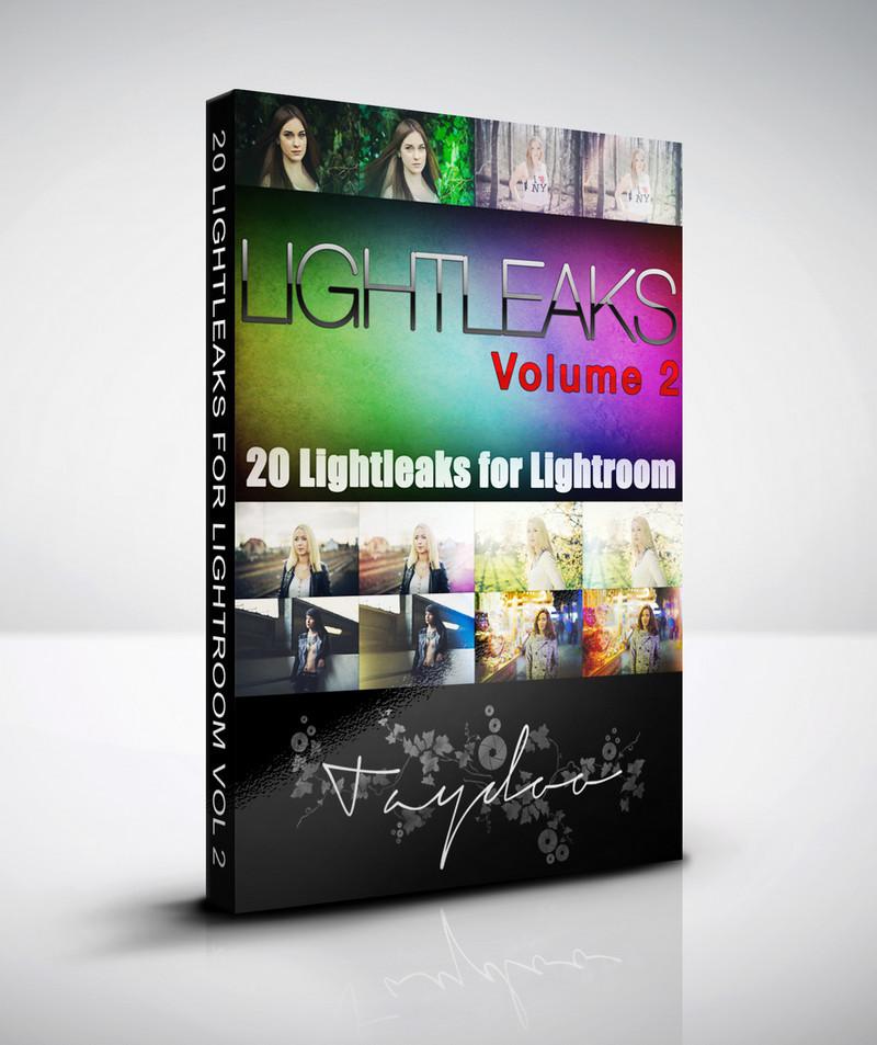 Produktbox Lightroom Lightleaks Vol. 2