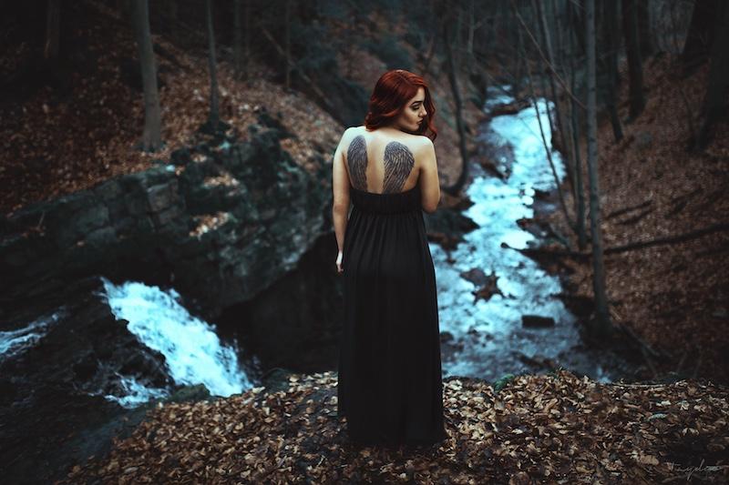 Fertiges Ergebnis vom Foto-Shooting am Patensteg Wasserfall mit Taydoo